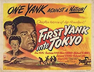 First Yank Into Tokyo POSTER (11