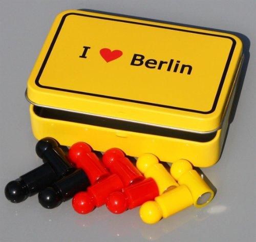 Hauptstadt-Magnet-Set