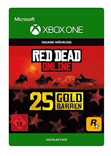 Rockstar Games Red Dead Redemption 2: 25 Goldbarren (DLC) - Xbox One Download Code
