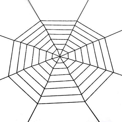 2 Stück Halloween Tricky Requisiten Gefälschte Simulation Dekorative Große Spinnen-Netz Spinnen-Spielzeug-Partei Zubehör for Haunted House Startseite zcaqtajro
