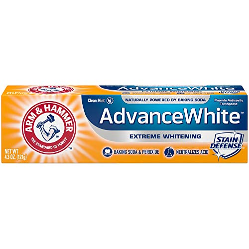 Arm & Hammer Advance White Extreme Whitening Toothpaste, 4.3 oz. (Pack of 12)