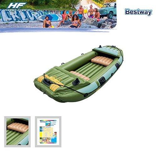 Bestway HYDRO-FORCE Neva III Schlauchboot, 65008,  316 x 124 x 55 cm