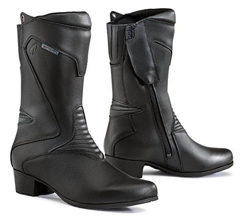 Forma Stiefel Moto Damen Ruby WP Eichzulassung CE, Schwarz, 37