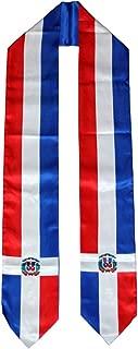 DR Dominican Republic Flag Graduation Stole/Sash/Scarf