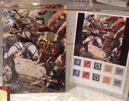 切手セット 進撃の巨人 ザ リアル USJ ユニバーサル スタジオ クール ジャパン 公式