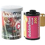 dubblefilm Solar 200 Color Negative Film, 35mm Roll Film, 36 Exposures
