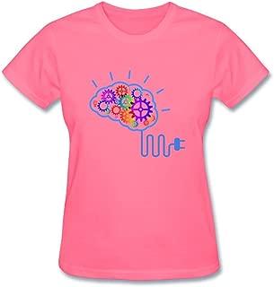 Gsdace Women's The creative brain concept T Shirt XXL