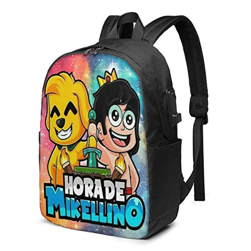 Mikec-Rack 3D Printing Anime/Cartoon Backpack,Unisex Fashion Shoulder Rucksack Laptop Travel Bag.Student Children's Personalized School Bags, Meal Bags