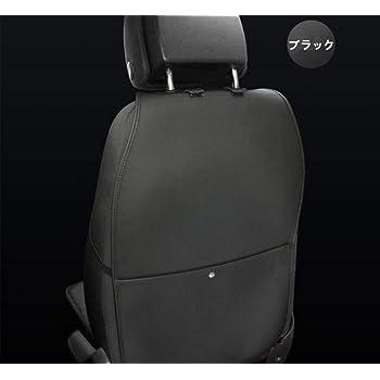 Tumecos 車用 キックガード 愛車 保護 シート シートカバー 子供のためのシートバックカバー 取付簡単 大切な愛車の シート の 傷 汚れ 防止 に 最適 ! ブラック