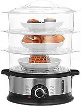 DYB 800W 9L 3 Niveaux cuiseur à Vapeur électrique minuterie Maison Nourriture Vapeur Cuisine Poisson Cuisson Machine Pot d...