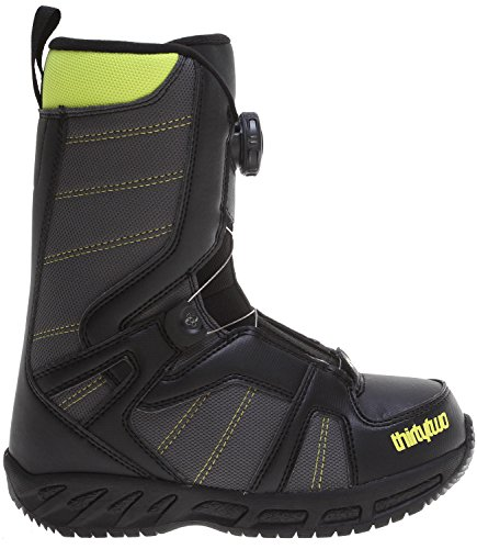 Thirtytwo Kids Boa Snowboard Boots, Black, Size 2
