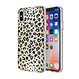 KENDALL + KYLIE Protective Printed Case for iPhone X - Leopard Print