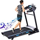 ANCHEER Treadmills for Home,3.25 HP Folding Treadmill with APP Control and Automatic Incline,Running Walking Jogging Machine for Home/Office/Gym Cardio Use