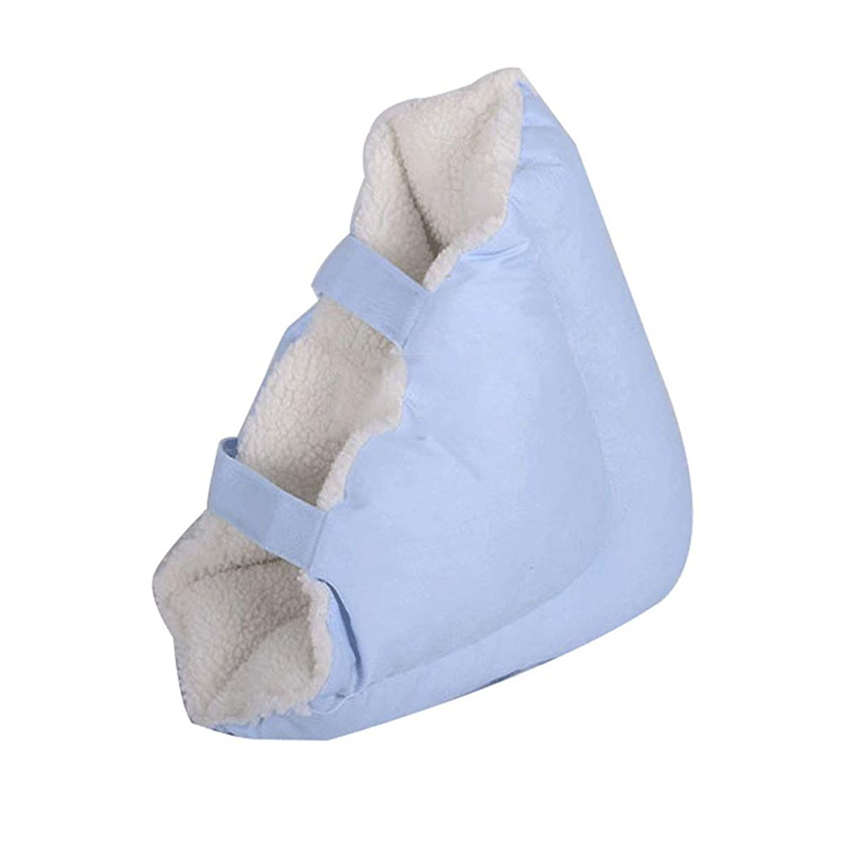かろうじて反発する腐敗した足枕ヒールクッションプロテクター-Pressure瘡の予防 高弾性スポンジ充填、1ペア