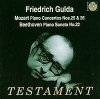 Piano Concertos 25 And 26/Piano Sonata (Collins, Nso, Gulda) by Mozart/Beethoven (2003-08-01)