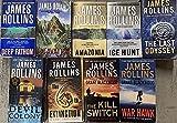 James Rollins Novel Collection 9 Book Set