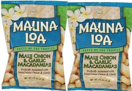 MAUNALOA(マウナロア) マカデミアナッツ Sサイズ 32g【2個】【メール便】 (オニオン&ガーリック【2個】)