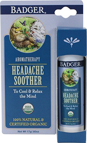 Badger Headache Soother - .6 oz Stick