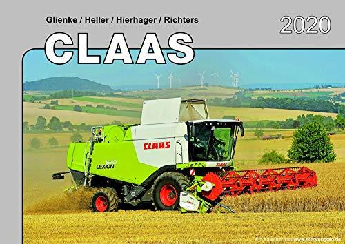 Kalender 2020 Claas Landmaschinen im Einsatz