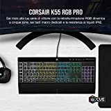 Zoom IMG-1 corsair k55 rgb pro tastiera