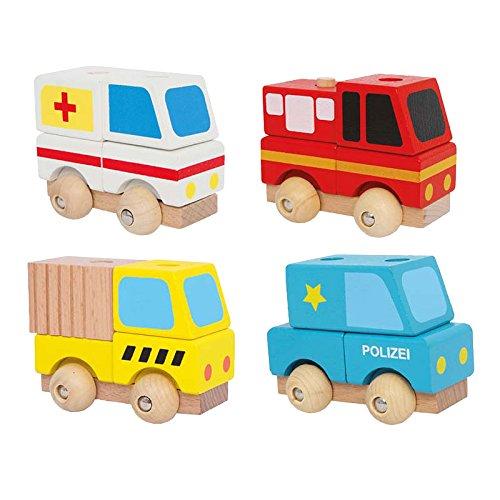 Small foot company - 3428 - Véhicule Miniature - Modèle Simple - Ambulance