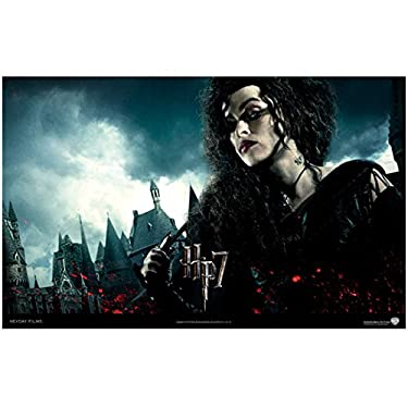 Harry Potter Deathly Hallows Part 1 Promo Helena Bonham Carter As Bellatrix Lestrange With Wand Wide Angle 8 x 10 Inch Photo