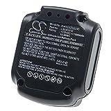 vhbw Batería Recargable Compatible con Black & Decker BDCD112, BDCD12, BDCDD12, BDCDD12K, BDCDD12KB Herramientas eléctricas (1500 mAh Li-Ion 12 V)