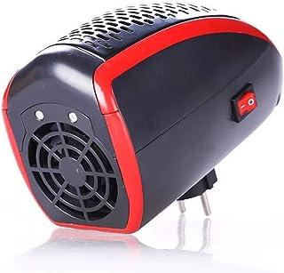 WANGYUJIE Calefactor de 400W Calentador de Pared de cerámica con termostato de sobremesa Ajustable o Calefactor de Mesa con Control Remoto