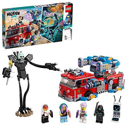 LEGO HiddenSide PhantomFireTruck3000, App per giochi AR, Playset Multigiocatore Interattivo a Realtà Aumentata per iPhone/Android, 70436
