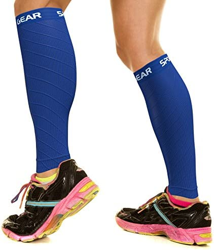 2 PAIRS Calf Compression Sleeve for Men Women Best Footless Socks for Shin Splints Leg Cramps product image