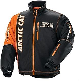 Arctic Cat Men's Team Arctic Premium Pro Flex Jacket - Orange-Small