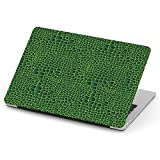 [ Compatible with Old Version MacBook PRO 13 inch with CD-ROM (Model A1278 - Year 2008-2012) ] Full Body Hard Case Cover - Crocodile Leather Animal