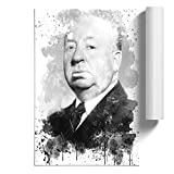 BIG Box Art Poster Kunstdruck Alfred Hitchcock V3 - Home