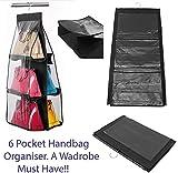 SmartStore™ 6Pocket Zum Aufhängen Handtasche Tidy Tasche Organizer Aufbewahrung Kleiderschrank...