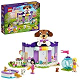 LEGO Friends Doggy Day Care 41691 Building Kit; Birthday Gift for Kids, Comes with 2 Mini-Dolls and 2 Toy Dog Figures, New 2021 (221 Pieces) from LEGO