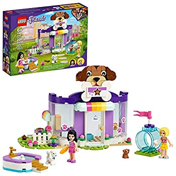LEGO Friends Doggy Day Care 41691 Building Kit  Birthday Gift for Kids Comes with 2 Mini-Dolls and 2 Toy Dog Figures New 2021  221 Pieces