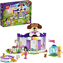 LEGO Friends Doggy Day Care 41691 Building Kit; Birthday Gift for Kids, Comes with 2 Mini-Dolls and 2 Toy Dog Figures, New 2021 (221 Pieces)