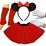 Adult Minnie das süße Maus Karneval Tutu Kostüm
