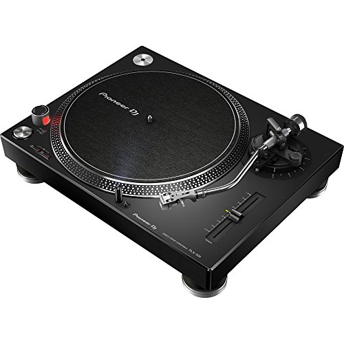 Pioneer PLX-500 Black Plattenspieler mit Direktantrieb mit USB-Anschluss