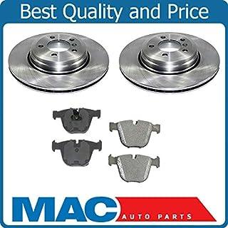 Rear Brake Disc Rotors and Ceramic Brake Pads for BMW 2006-2010 535i 545i 550i 645Ci 650i