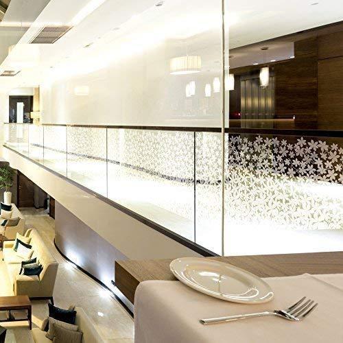 5,91 €/m2 Solar Screen melkglasfolie privacy film 152 cm breed strekkende meter raamfolie zelfklevende folie decoratiefolie melkglas