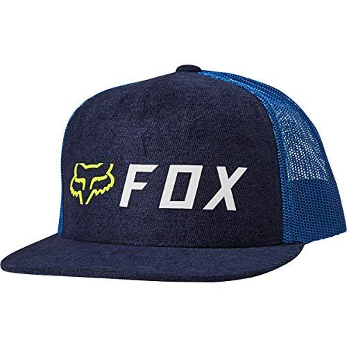 Fox Gorra TruckerApex Snapback de Beisbol Baseball (Talla única - Azul Oscuro)