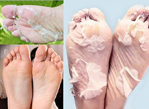 GARYOB Piede Esfoliante Maschera, 4 paia, per piedi lisci come quelli di un bebè, per la rimozione di pelle morta e una pedicure migliorata