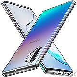 ivoler Clara Funda para Samsung Galaxy Note 10+ 4G / Note 10 Plus 5G, Carcasa Protectora Anti-Choques y Anti-Arañazos Transparente Flexible Suave TPU Silicona Caso Delgada Anti-Choques Case Cover