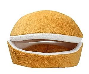 Crazy Lin Hambourg en peluche Forme de lit Panier pour chien/chat/Animal au chaud