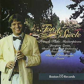 Fin de Siècle: French Flute Masterpieces