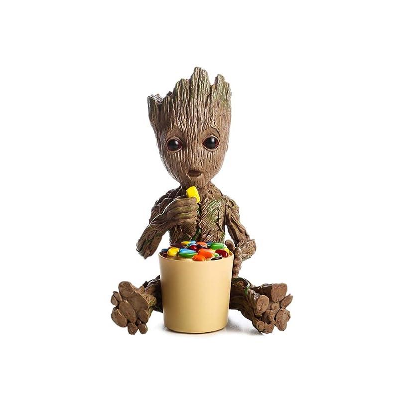 カバー何びっくりするSGLI アニメキャラクター像リアルツリーマンおもちゃモデルホームデコレーションコレクション身長13cm トイモデル