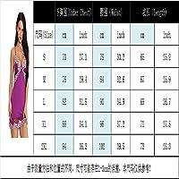 SHENLIJUAN 爆発的なセクシーなランジェリーモーダル快適なストレッチスカートのレースのセクシーなパジャマ (Color : Black, Size : M)