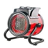 SHIXIMAO Calentador eléctrico portátil Termostato Calentador de Aire...