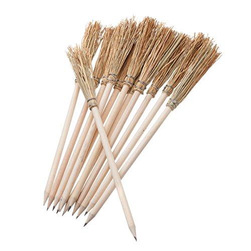 Mendi 12 Bleistift Besen - Natural